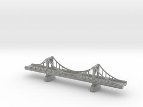 Roberto Clemente Bridge in Metallic Plastic