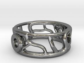 M A G I C Ring V2  in Premium Silver