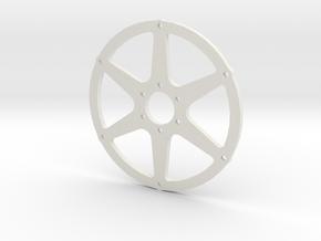 Radios Traseros sb5 1/5 motorbike in White Natural Versatile Plastic
