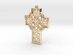 Celtic Cross in 14K Yellow Gold