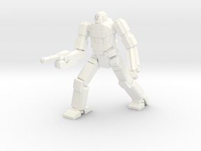 Chimera Advanced Battlesuit Walker Mode in White Processed Versatile Plastic