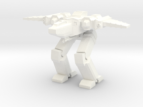 Chimera Advanced Battlesuit Hybrid Mode in White Processed Versatile Plastic