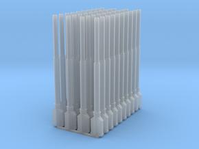 1:87 1584 BVL-mast met KIR KIK sokkel dubbel (40x) in Smooth Fine Detail Plastic
