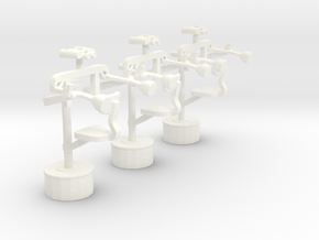 1/72 USN SkyLookOut Chairs in White Processed Versatile Plastic