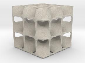 Diamond Math Geometry in Natural Sandstone