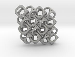 Spherical Cuboid Pattern Design in Aluminum
