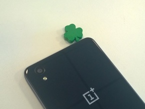 Shamrock Headphone-Plug in Green Processed Versatile Plastic