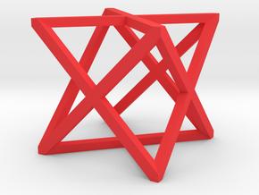 xCube Medium in Red Processed Versatile Plastic