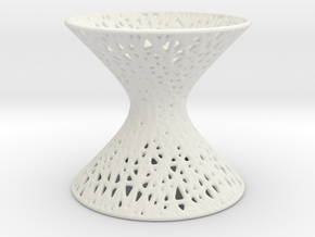 Hyperboloid Mesh Pattern in White Strong & Flexible