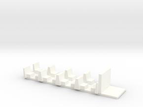 Interior for PC-BD_2S in White Processed Versatile Plastic