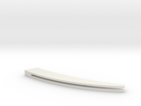 Razor Scales#1 in White Natural Versatile Plastic