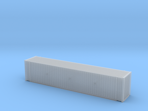 45' Hi Cube ISO Container (N Gauge 1:148) in Smooth Fine Detail Plastic