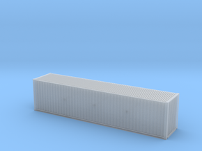 40' Hi Cube ISO Container (N Gauge 1:148) in Smooth Fine Detail Plastic