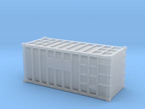 20 Waste Container Bristol (N Gauge 1:148) in Smooth Fine Detail Plastic