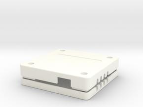Case, Power Distribution Board, HK Pilot in White Processed Versatile Plastic