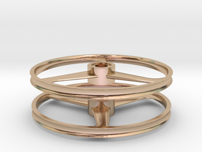 TALON 1:8 Scale, 20-in Bicycle Wheel, 120828 in 14k Rose Gold