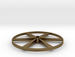 "CHAPP, 1:8 Scale, 26"" Bicycle Wheel, 120904 in Natural Bronze"