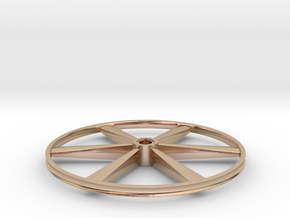 """CHAPP, 1:8 Scale, 26"""" Bicycle Wheel, 120904 in 14k Rose Gold"""