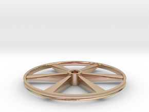 """CHAPP, 1:8 Scale, 24"""" Bicycle Wheel, 120904 in 14k Rose Gold"""