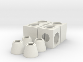 O Storm Jct Box Concentric in White Natural Versatile Plastic