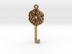 Friggjarlykill #2  - Key of Frigg in Polished Brass
