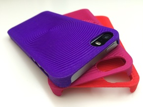 PS.23 Case - C ( iPhone 5, 5S & SE ) in Purple Processed Versatile Plastic