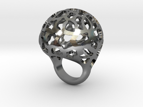 Orbit ring in Polished Silver