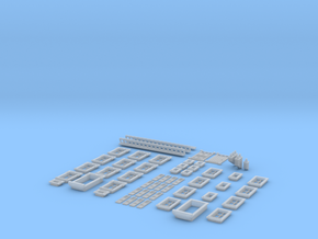 NVIM03 - City buildings in Smooth Fine Detail Plastic