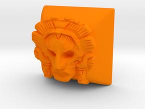 Pacal (Cherry MX DSA) in Orange Processed Versatile Plastic