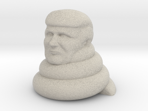 Donald dump in Natural Sandstone