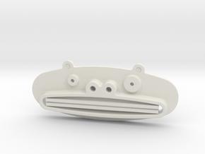 Paste Pusher Animal Bear in White Natural Versatile Plastic