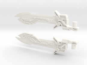 Voyager Evasion Mode Optimus Prime Sword in White Strong & Flexible Polished