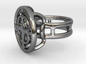TargetRing  in Premium Silver