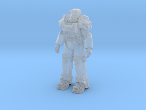Power Armor T-60 in Smooth Fine Detail Plastic