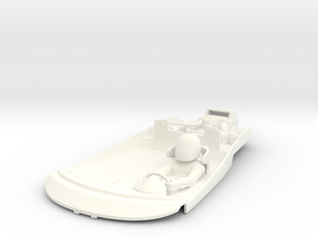 S09-SA1 Cockpit for Scalextric McLaren GT in White Processed Versatile Plastic