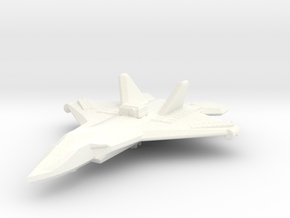 Spacce--plane in White Strong & Flexible Polished