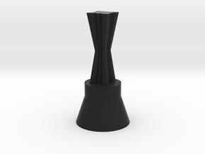 160322_ChessQueen_02 in Black Natural Versatile Plastic