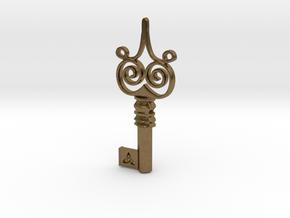 Friggjarlykill #4  - Key of Frigg in Natural Bronze