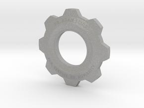 Gears Of War Cog Octus Service Medal in Aluminum