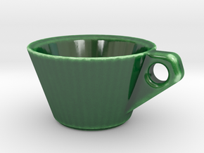 Espresso Cup in Gloss Oribe Green Porcelain