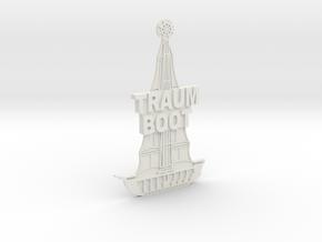 Magnetaufsatz Traumboot in White Strong & Flexible