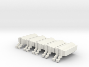MotorHousing B ver.2.2 in White Natural Versatile Plastic