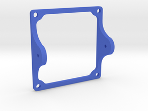 FPV Camera Mount in Blue Strong & Flexible Polished