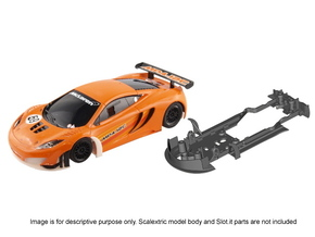S09-ST2 McLaren MP12-4C GT3 ch. STD/STD in White Strong & Flexible Polished