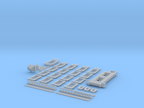 NVIM12 - City buildings in Smooth Fine Detail Plastic