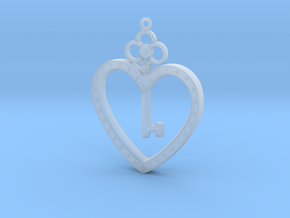 The Key To My Heart in Smooth Fine Detail Plastic