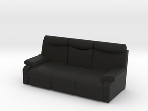 ANDRY  ARM CHAIR in Black Natural Versatile Plastic