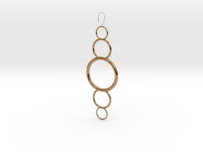 Circles in Polished Brass
