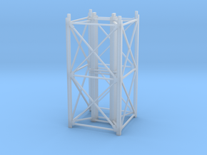 """1/64th """"S"""" Scale Grain Leg/Tower 20ft Section in Frosted Ultra Detail"""