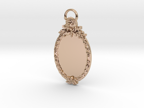 Scary Manor Cameo in 14k Rose Gold